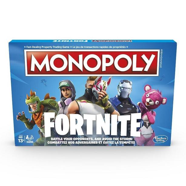 New Monopoly game, Fornite version