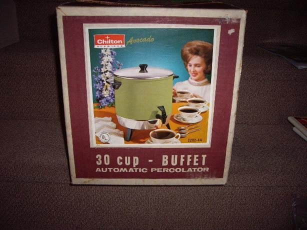 COFFEE MAKER 30 CUP, IN BOX