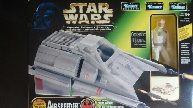 1997 KENNER THE ART OF STAR WARS AIRSPEEDER PILOT