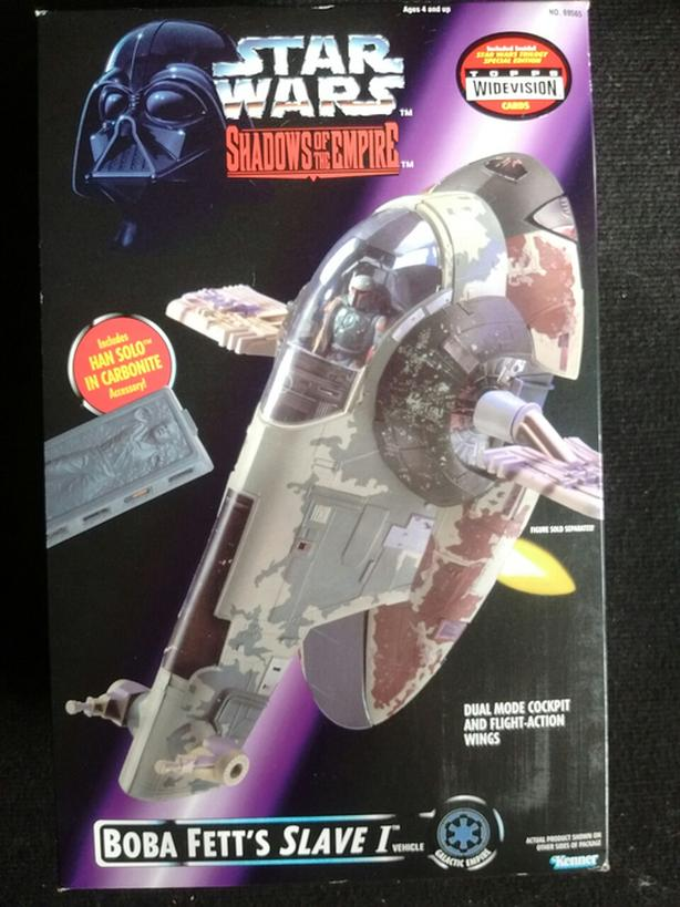 1996 Star Wars Shadows of the Empire BOBA FETT'S SLAVE 1 VEHICLE
