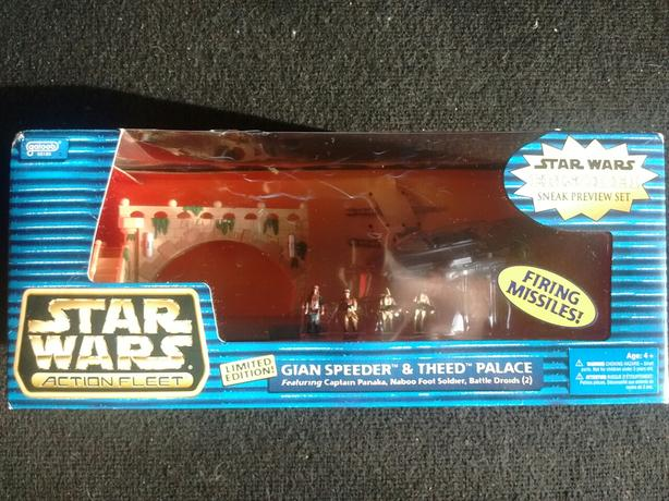 1998 Galoob Special Edition Gian Speeder & Theed Palace