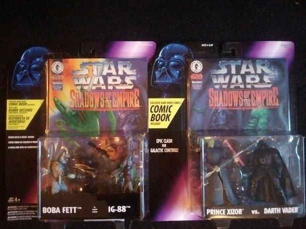 Kenner 1996 Shadows of the Empire Comic Book and Figurines