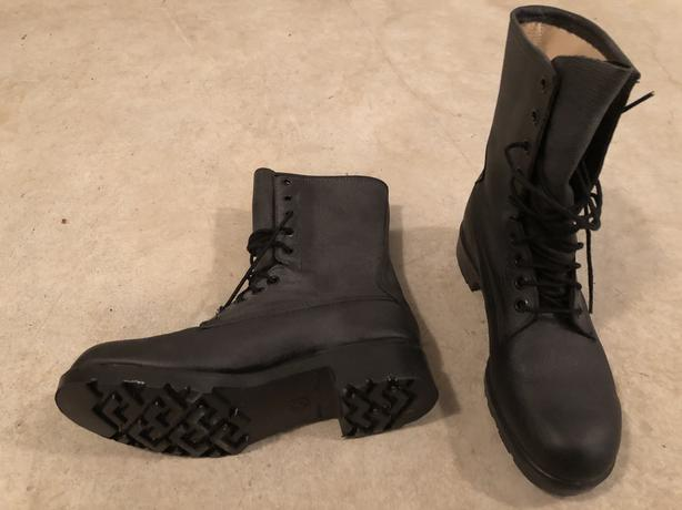 Steel toed boots