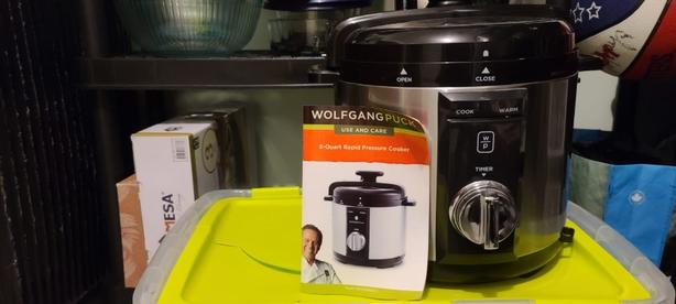 wolfgang new pressure cooker