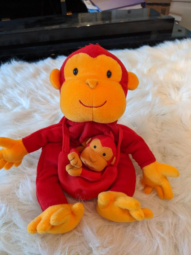 Monkey Hand and Finger Puppets