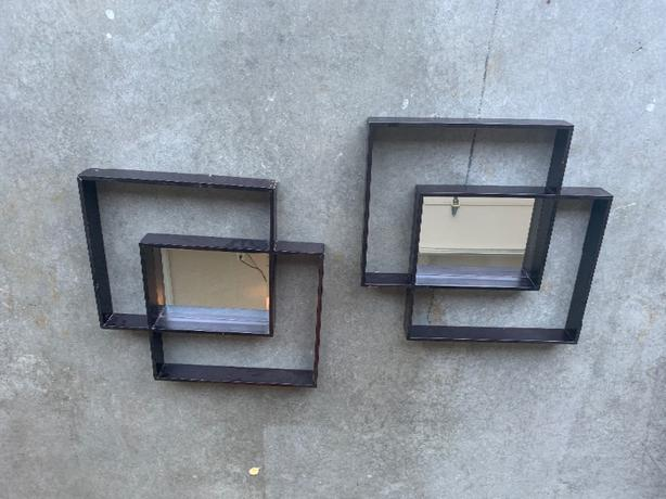 Decorative Mirrored wooden Wall 'art'?