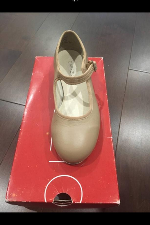 Capezio Tan Tap Shoes