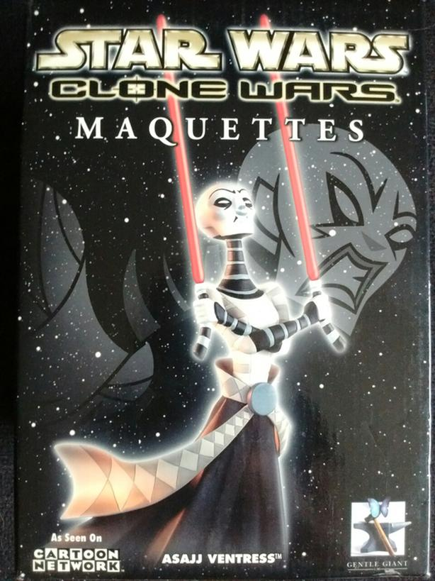 Star Wars CLONE WARS MAQUETTES ASAJJ VENTRESS 1614-2500