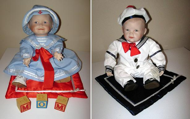Amanda and Matthew Porcelain Dolls – 1988 series