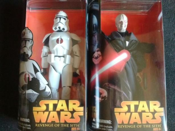 2005 Hasbro Revenge of Sith DARTH SIDIOUS CLONE TROOPER