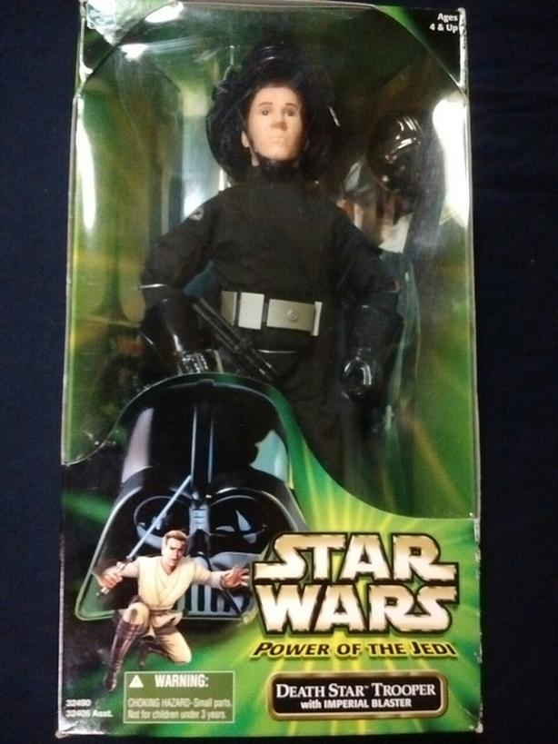 "2001 Hasbro Power of the Jedi 12""Action Figure DEATH STARTROOPER"