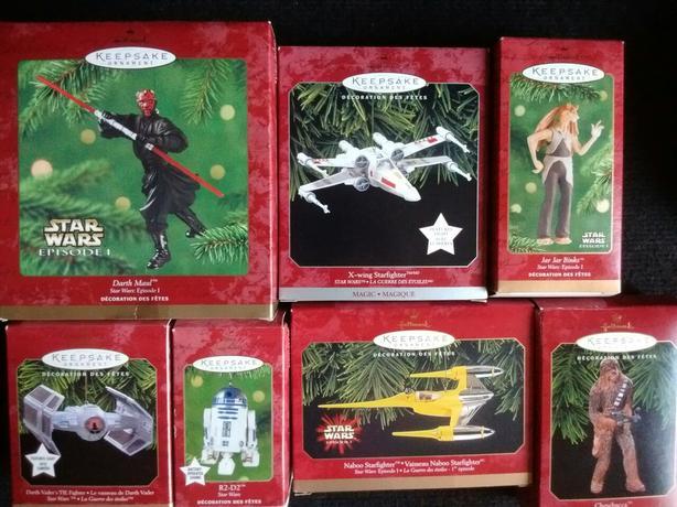 STAR WARS Hallmark Collection Keepsake Ornaments Handcrafted
