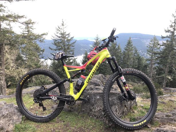 2017 Stumpjumper Comp Carbon 650B size L