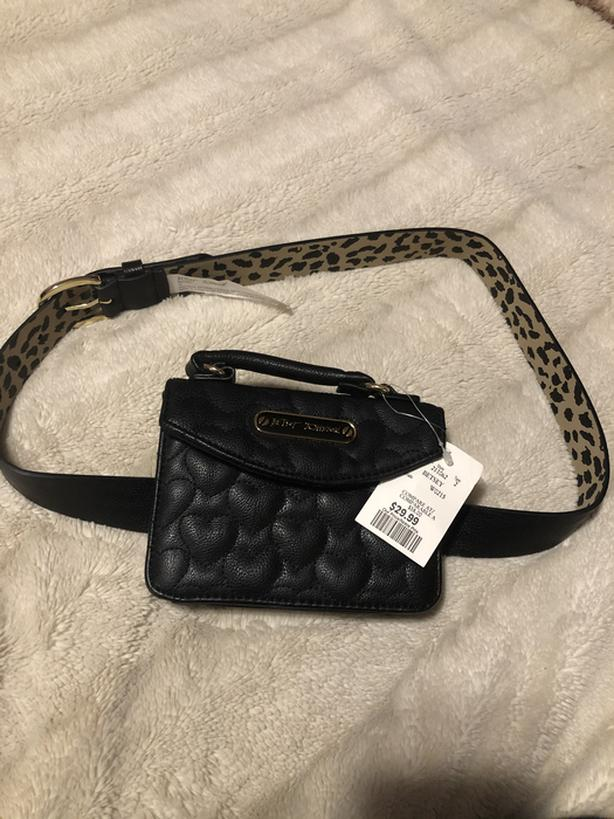 BNWT Betsey Johnson Fanny Pack FIRM
