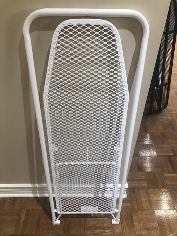 Door hanging, space saving Ironing Rack with Cover