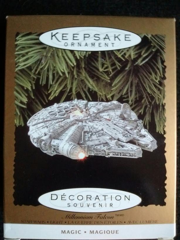 1996 Millennium Falcon Hallmark Collection Keepsake Ornament