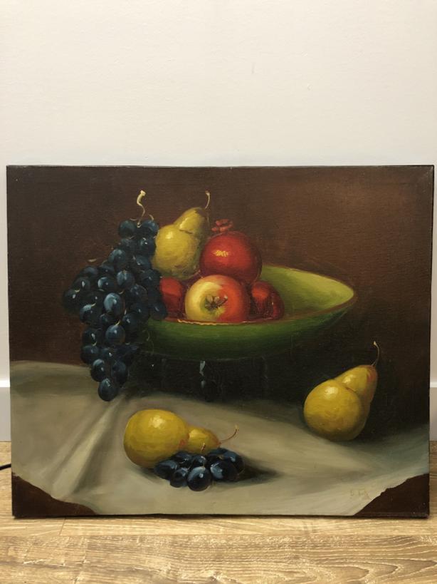 Oil painting / peinture d'huile