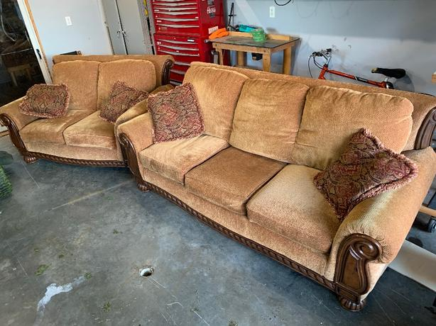 Ashley Couch and Sofa