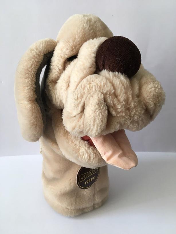 Vintage Wrinkles Hand Puppet