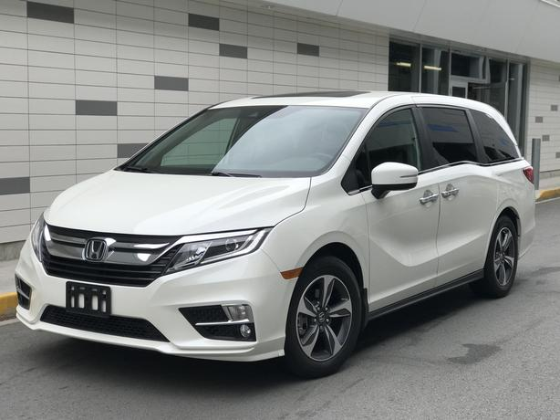 2018 Honda Odyssey EX-L with RES