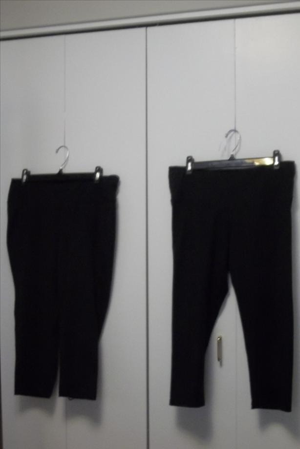 EACH!  2 identical Old Navy active go dry pairs of spandex pants