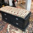 Blanket Box / Storage Box with Upholstered Seat