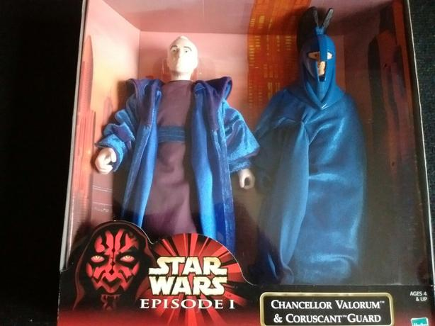 1999 Star Wars Episode 1 CHANCELLOR VALORUM & CORUSCANT GUARD