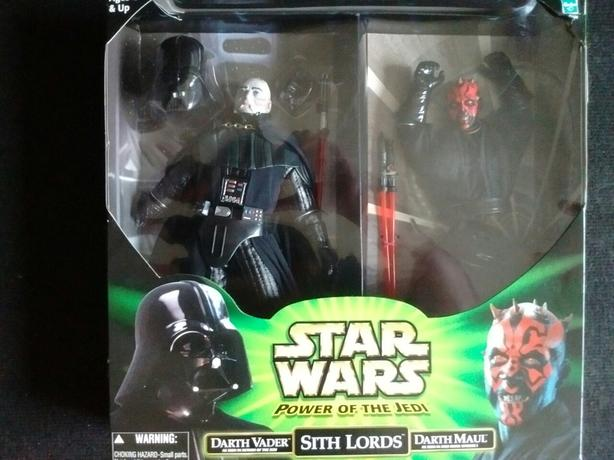 2000 Star Wars Power of the Jedi SITH LORDS DARTH VADER & DARTH MAUL