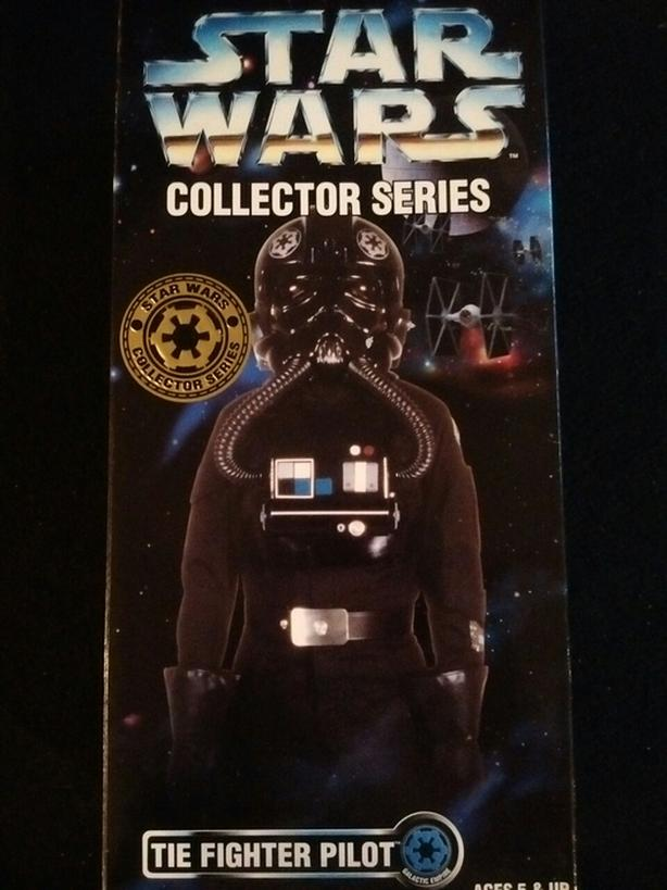 "KENNER 1996 12"" TIE FIGHTER PILOT WARS COLLECTOR SERIES"
