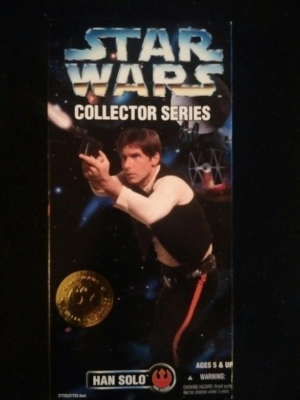 "KENNER 1996 12"" HAN SOLO STAR WARS COLLECTOR SERIES"