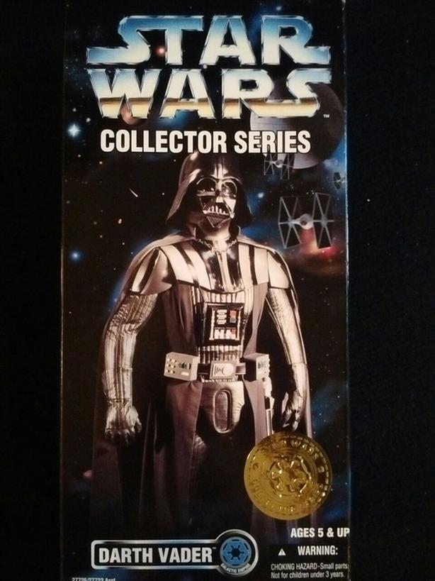 "1996 KENNER 12"" DARTH VADER STAR WARS COLLECTOR SERIES"