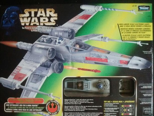 1997 Power of the Force LUKE SKYWALKER RED FIVE X- WING FIGHTER