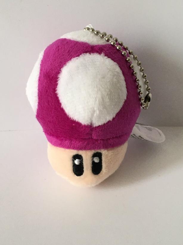 Super Mario Mushroom Keychain