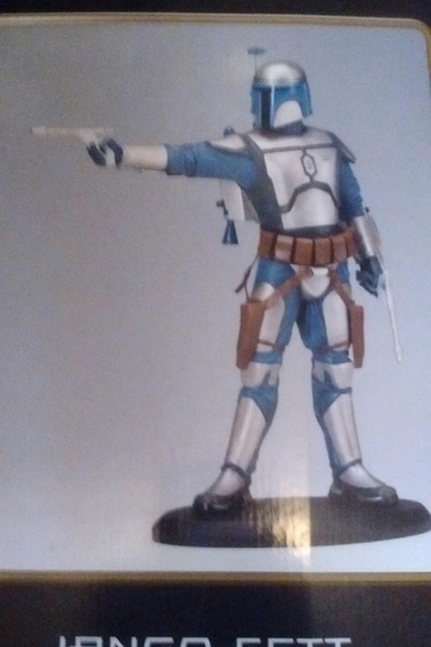 2001 JANGO FETT ATTAKUS COLLECTION 374/1500  This Limited Edition Statue