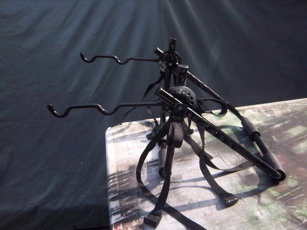 2-bike bicycle rack
