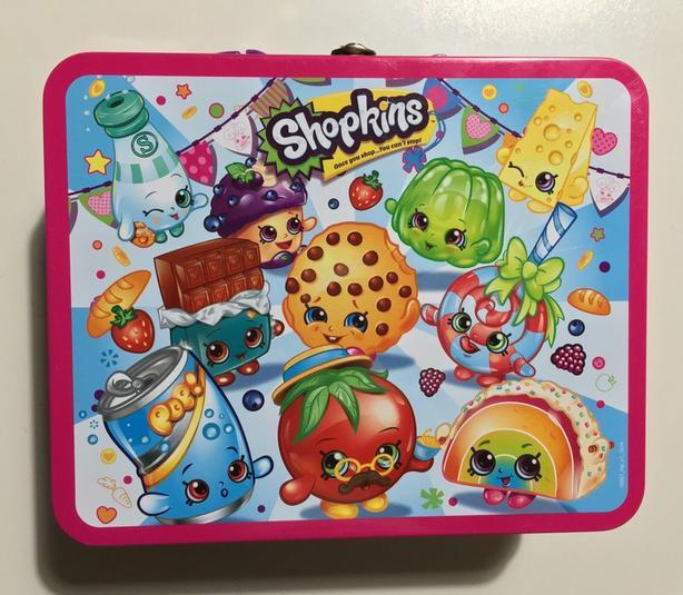 Shopkins Tin Lunchbox