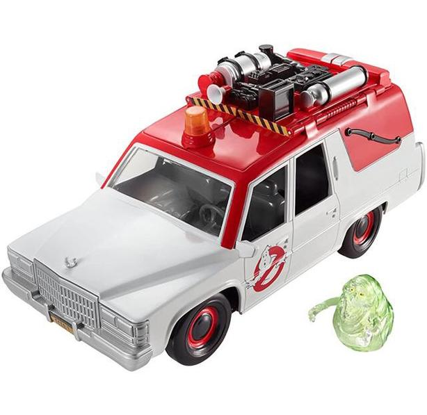Ghostbusters Ecto-1 w/ Slimer