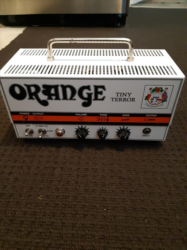 Orange Tiny Terror (see optional Mesa cab in sellers list)