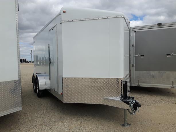 2021 Agassiz 7 x 16 x 86 Enclosed Ramp Door Cargo Trailer HH4599