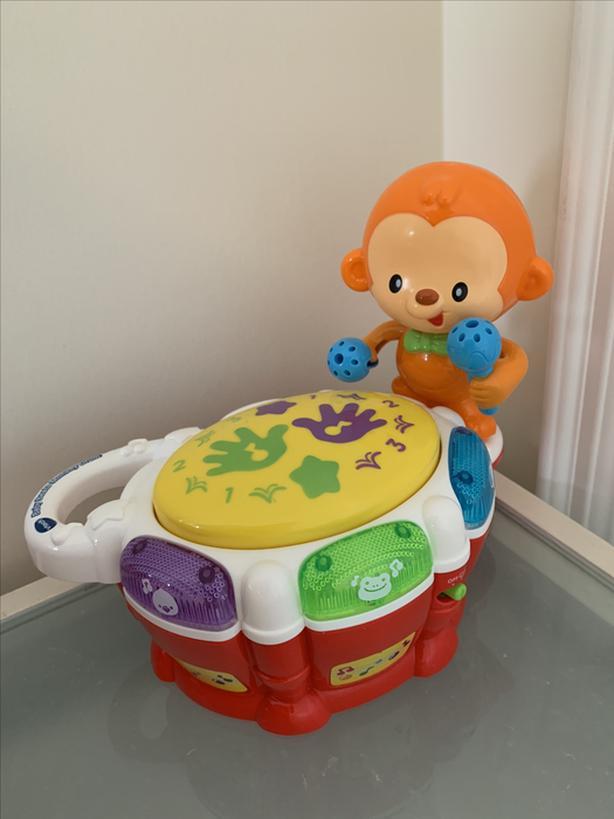 Vtech monkey drum toy