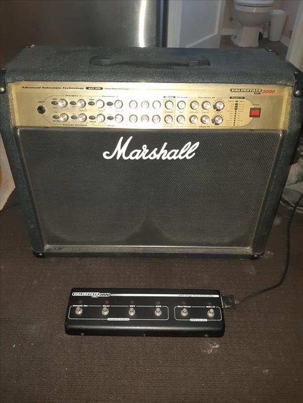 Marsall AVT275 Great condion, Hybrid Amp, Very Loud.