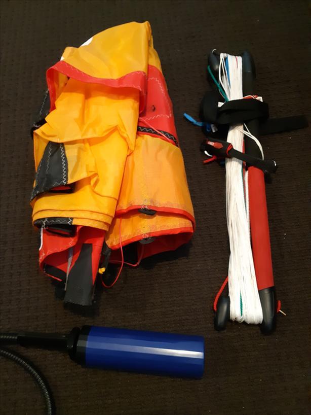 Ocean Rodeo 2m trainer kite. 2008 model. Like new.