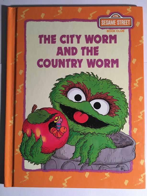 Vintage Sesame Street Book Set