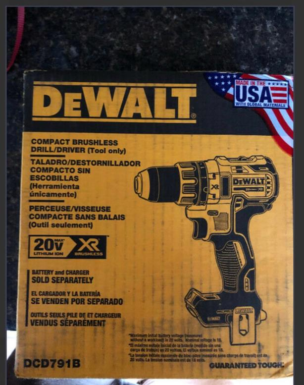 Brand new in the box still DeWalt Compact Brushless Drill/Driver(