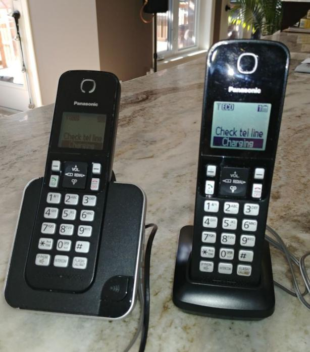 Panasonic Cordless Phones (Model #Kx-Tgc380c)