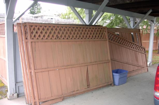 fence panels boards