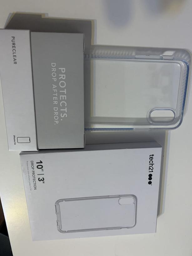 Tech21 Pure Clear Case for iPhone XS