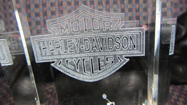 CRYSTAL HARLEY DAVIDSON MULTI COLOR LIGHT