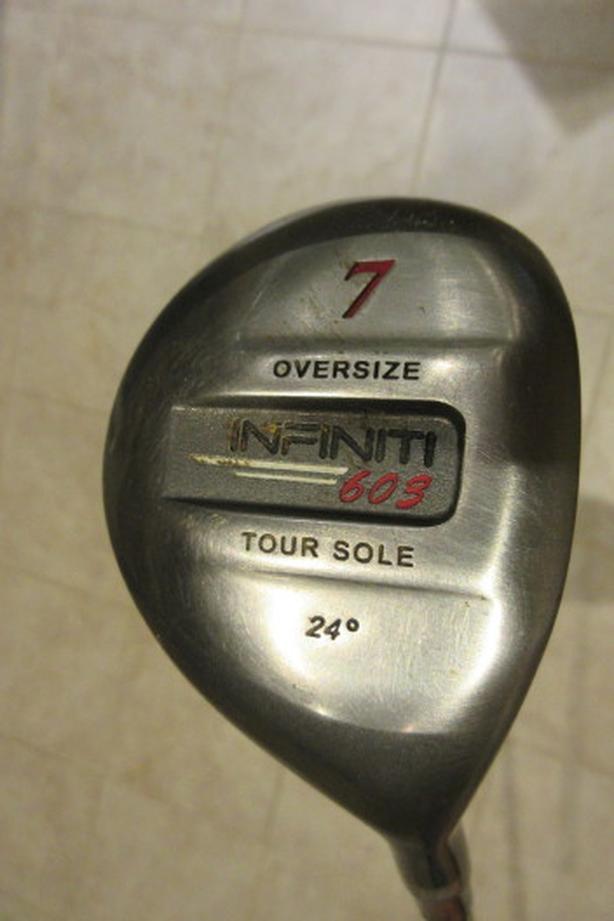 Infiniti Titanium 7 Iron, Graphite handle-÷