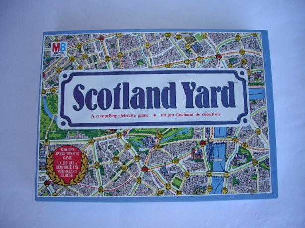 SCOTLAND YARD 1985 W INSTRUCTIONS